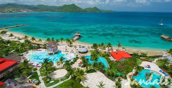 Sandals Grande St Lucian Spa Beach Resort