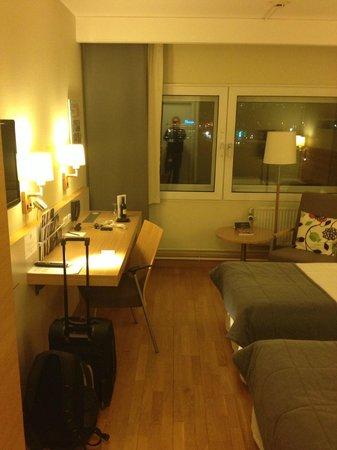 Scandic Glostrup : Overview room 414