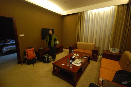 The Kylin Grand Hotel : living