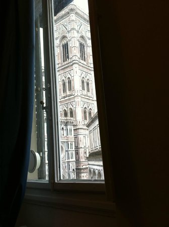 Duomo View B&B: la tomé acostado de en la cama