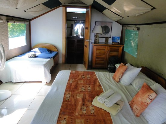 Rafiki Beach Camp: Our Luxury Tent
