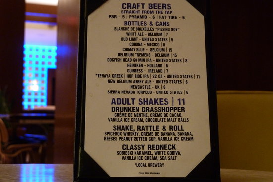 ‪‪Renaissance Las Vegas Hotel‬: Excellent Craft Beers Grill 55‬