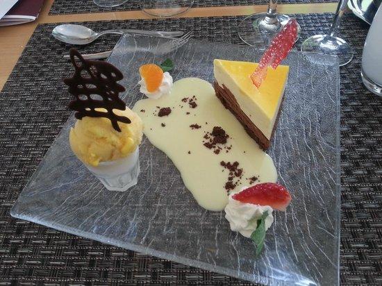 Hotel Restaurant Acadie Saint Victor : Craquant chocolat et passion