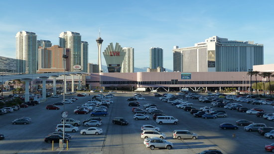 Renaissance Las Vegas Hotel: Convention North / South Halls Across Car Park