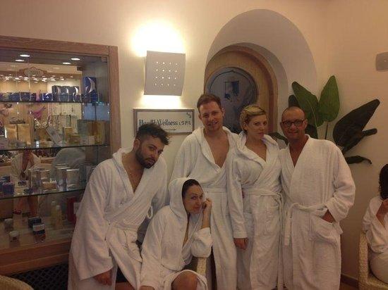 Sorriso Thermae Resort & Spa: Prima del percorso.....