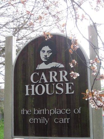 Emily Carr House : Emilty Carr House