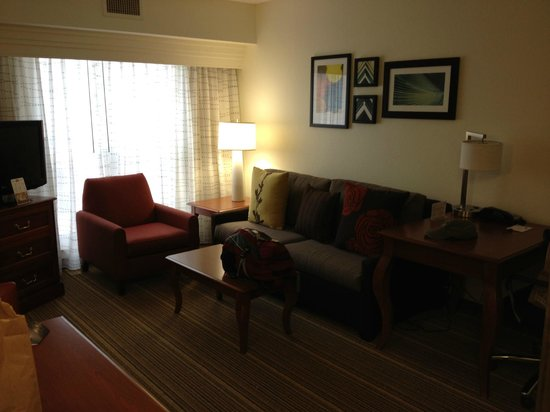 Residence Inn by Marriott Charleston Airport: Sofa and Chair