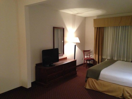 Holiday Inn Express Syracuse / Fairgrounds: TV, dresser