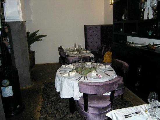 Ryad Amiran: la sala da pranzo