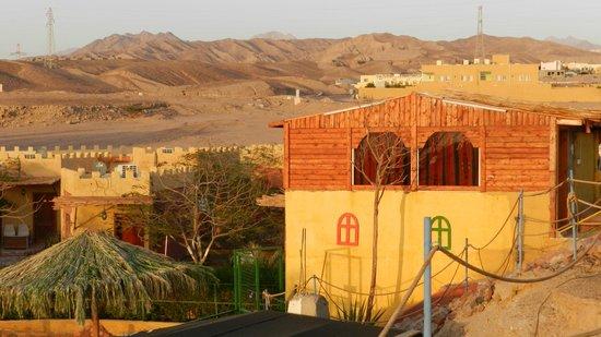 Bedouin Moon Village: Hotellage