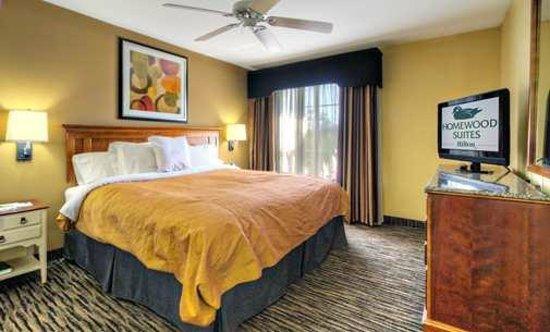 هوموود سويتس باي هيلتون لونجفيو: Hotel Suite with King Bed