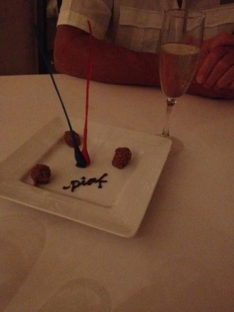 Grand Velas Riviera Nayarit: great dinner at Piaf