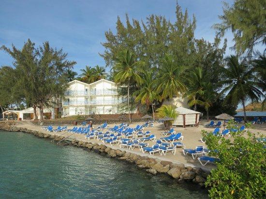 Carayou Hotel & Spa: La plage privée