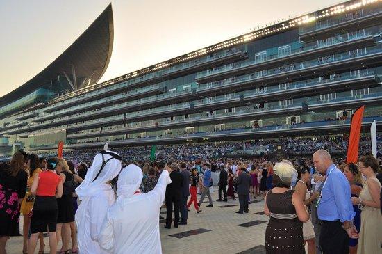 Meydan Racecourse: Meydan grand stand