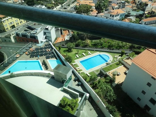 Four Views Baia: Pool from the Sea View room
