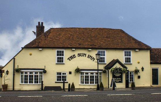The Sun Inn: Front of Pub