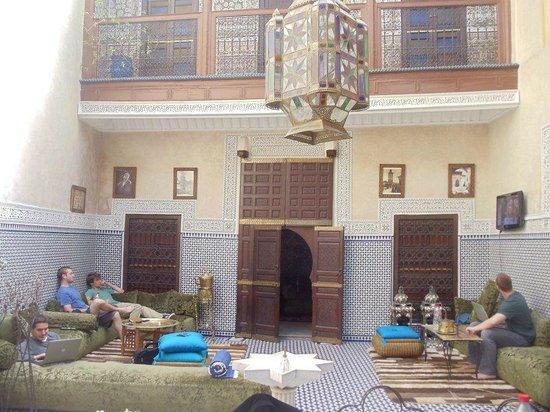 Riad Amlal : living room