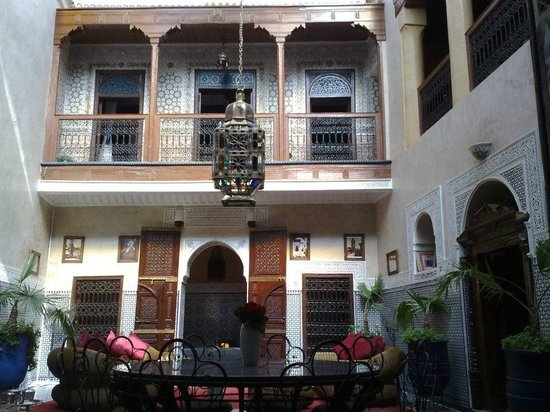 Riad Amlal: Inside the Riad