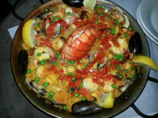 Paella House: Mixed Paella with Lobster