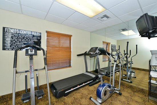 Best Western Rayne Inn: Exercise Room