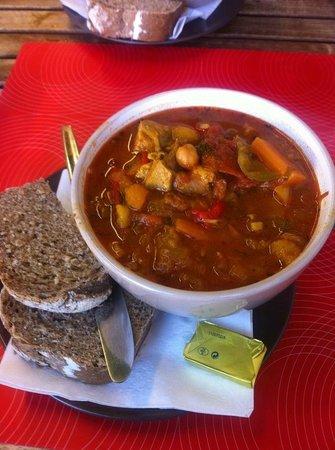 Dalkey, Ireland: Moroccan lamb stew