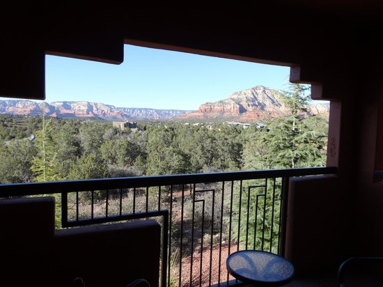 Sedona Summit Resort: Patio view