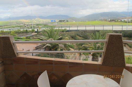 Hotel HO Ciudad de Jaen: The balcony view