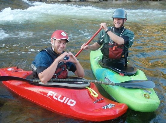 River & Trail Outfitters: Love to Kayak on the River