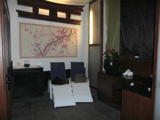 Primus Grand Hotel: zona relax post bagno romantico...