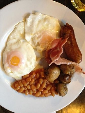 Premier Inn London Southwark (Borough Market) Hotel: breakfast at The Anchor