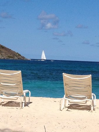 The Westin Dawn Beach Resort & Spa, St. Maarten: Another from the beach