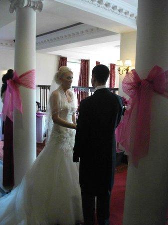Mercure Haydock Hotel: Ceremony