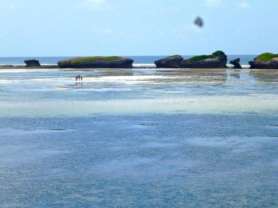 Mawe Resort: vista verso la barriera corallina