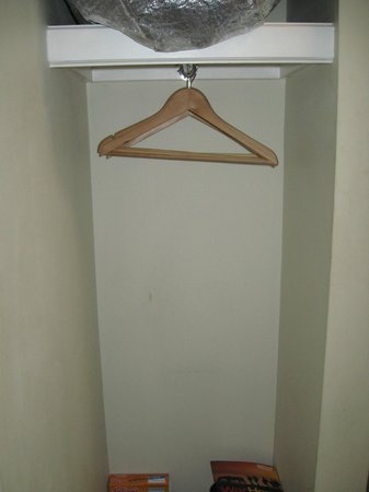 Central Hotel: Small but useful closet space