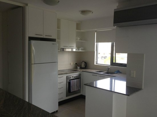 Sevan Apartments: kitchen