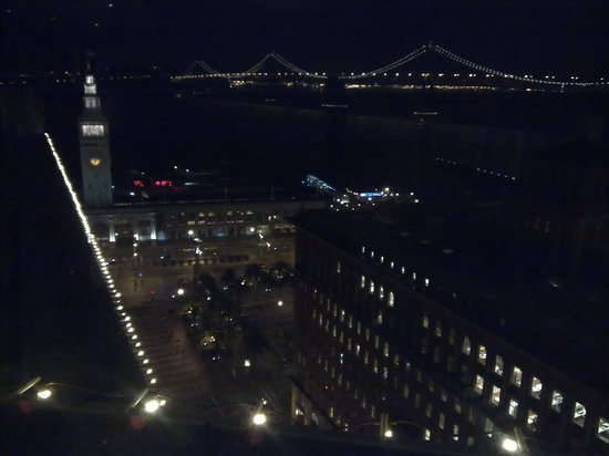 Hyatt Regency San Francisco: View from our room