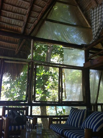 Cabarete Maravilla Eco Lodge & Beach: bohio living room