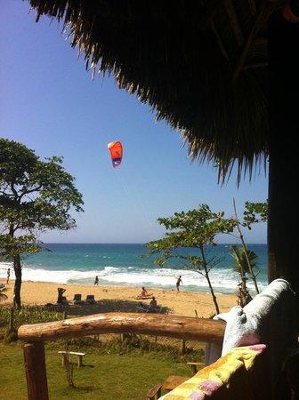 Cabarete Maravilla Eco Lodge & Beach: wind-surfing