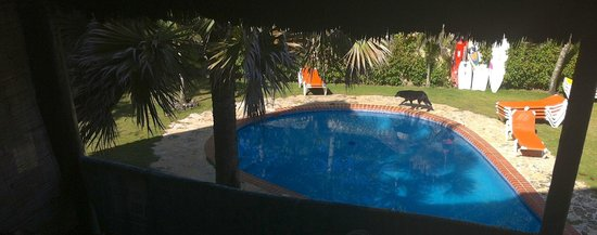 Cabarete Maravilla Eco Lodge & Beach: pool /yard