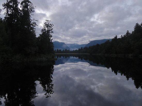 Fox Glacier, New Zealand: Early Morning at Lake Matheson