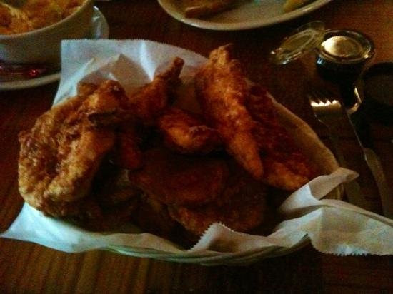 Molly McGuire's: chicken fingers and spuds