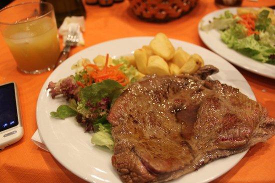 Restaurante Meson Jose: fillete-en el menu