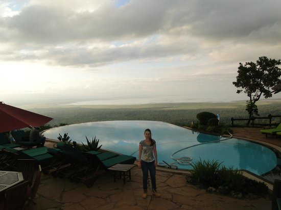 Lake Manyara Serena Lodge: linda vista da piscina