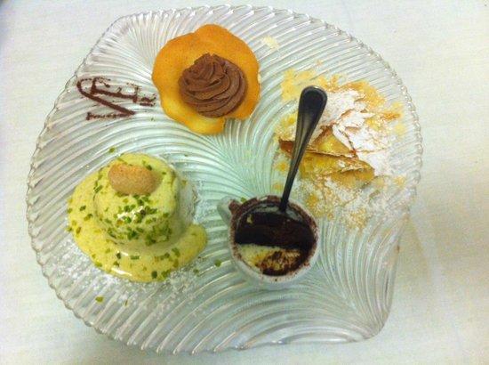 Villa Euchelia Resort: Die unwiderstehliche Dessertvariation für Zwei ;-)