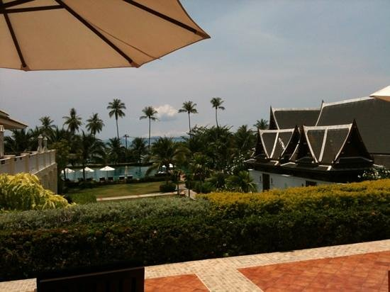 Sofitel Krabi Phokeethra Golf & Spa Resort: the lovely view