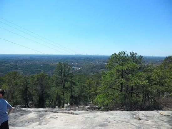 Stone Mountain Park: View from Stone Mountain
