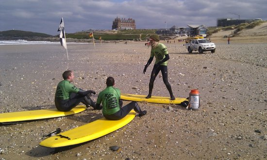 Big Green Surf School: Newquay