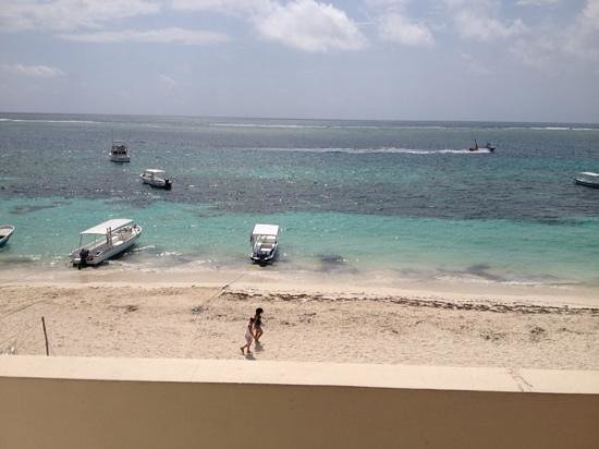 hotel hacienda morelos, vista desde el balcón