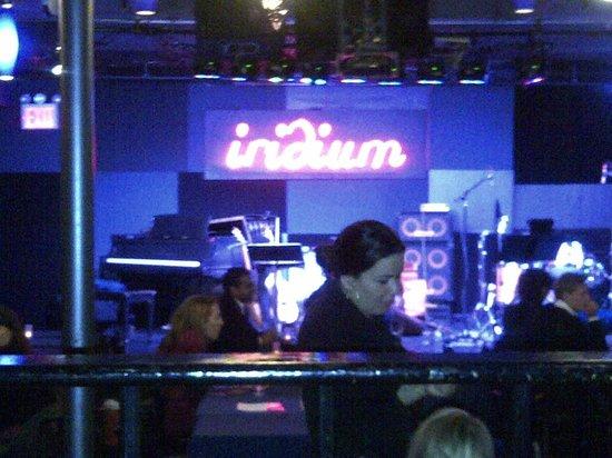 Iridium Jazz Club: The stage area