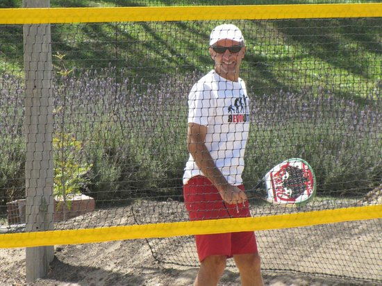 Pinamar Tennis Club: beach tennis